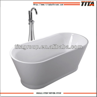 Small size freestanding bathtub