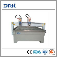 High efficiency+ Nc-studio +dust proof three heads cnc stone router with high quality