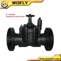 water 4 inch solenoid switch valve for irrigation