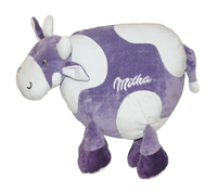 TCCC audity and SEDEX factory milka plush pillow cow middle soft toy plush toys