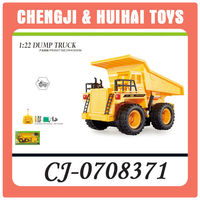 Hot plastic kid rc dump trucks for sale wholesale toy