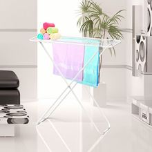 Latest arrival attractive style white parts X shape towel clothes rack