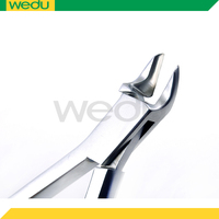 Cranial bone flap fixation Clamp trimming instrument