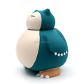Wholesale anime pocket monster snorlax coin bank, custom plasctic saving bank for kids, custom large coin bank