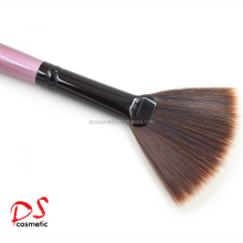 DISHI synthetic hair fan brush,Fan Brush for highlighting,Makeup Large Fan Goat Hair Blush Face Powder Foundation Cosmetic Brush