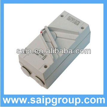Australian single-phase isolator switch outdoor 1P20A,2P35A,3P63A,4P20A with SAA