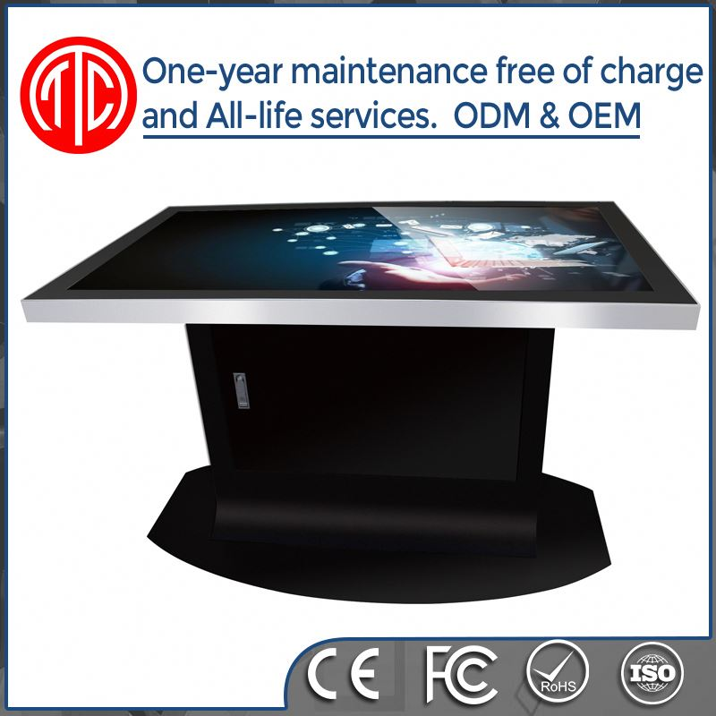 32 inch 42 inch 46 inch touch screen android 4.4. touch table top computer