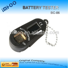 plastic hearing aid keyring battery tester checker auto battery analyzer