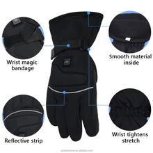 Electric sport women's battery heated motorcycle gloves