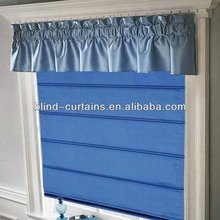 Roman window curtains/luxurious curtains with valance