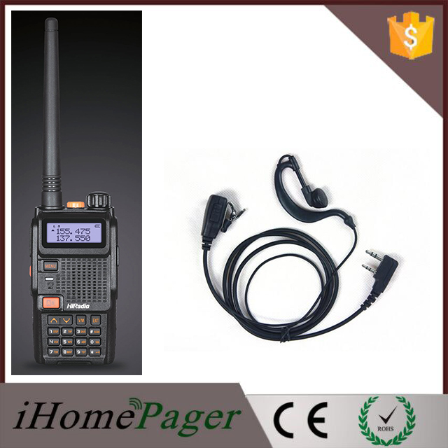 Wireless Uv Dual Band Tour Guide Uhf Vhf Am Fm Two Way Radio