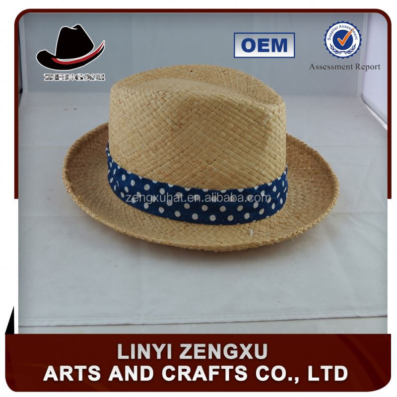 cheap plastic colorful straw fedora hats