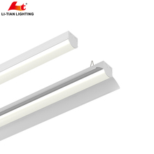 2018 new design linear led high bay light 40w 60w led linear tube light office supermarket use ce rohs approved