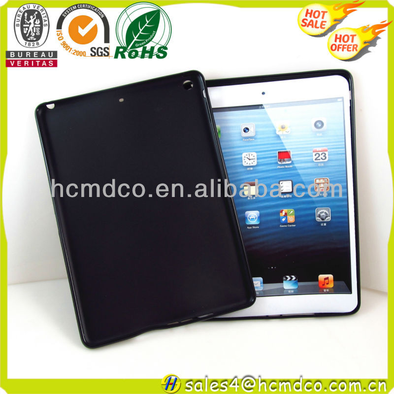 Newest soft silicone case for ipad 5,cheap tpu cover for ipad 5