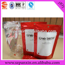 stand up zipper bag for honey packaging resist high temperature