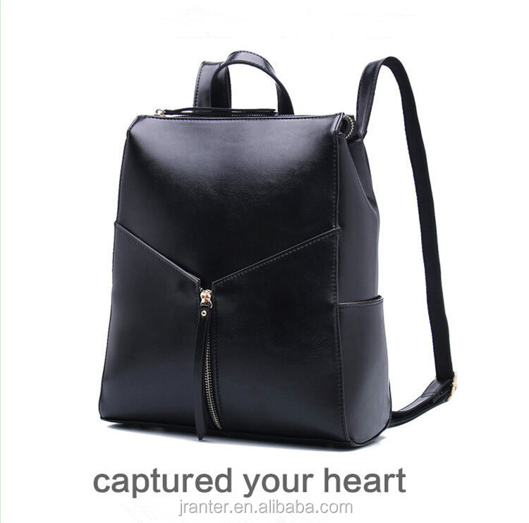 New Fashion Style School Girl Shoulder Bag Leather backpack female