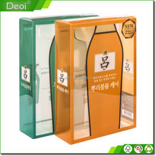 Plastic box with good quality, hot selling plastic packaging box,custom pet clear plastic box