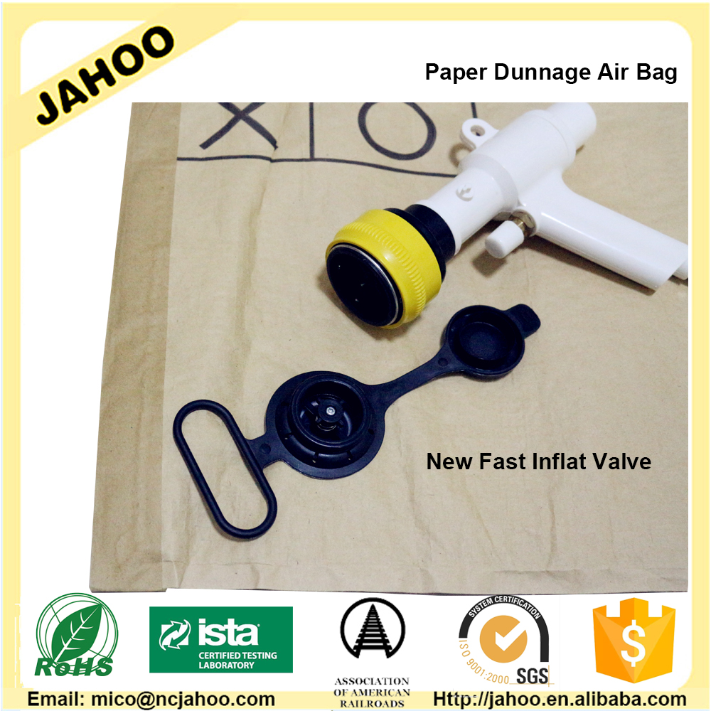 Easy Inflate Security Kaft Paper Container Air Bag