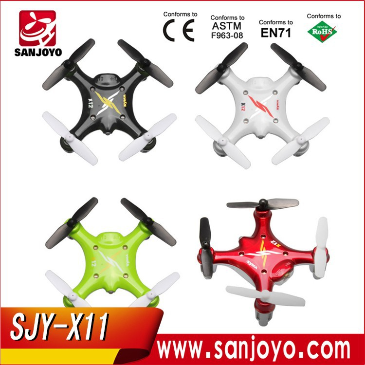 Syma new product 4CH RC Transmitter Nano 6-Axis RTF UFO 2.4G mini RC Quadcopter Drone <strong>X12</strong>