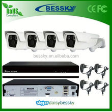 fisheye lens ip camera, 8 channel indoor/outdoor wireless ip camera cctv kit security system BE-6004SLIPWD200Z