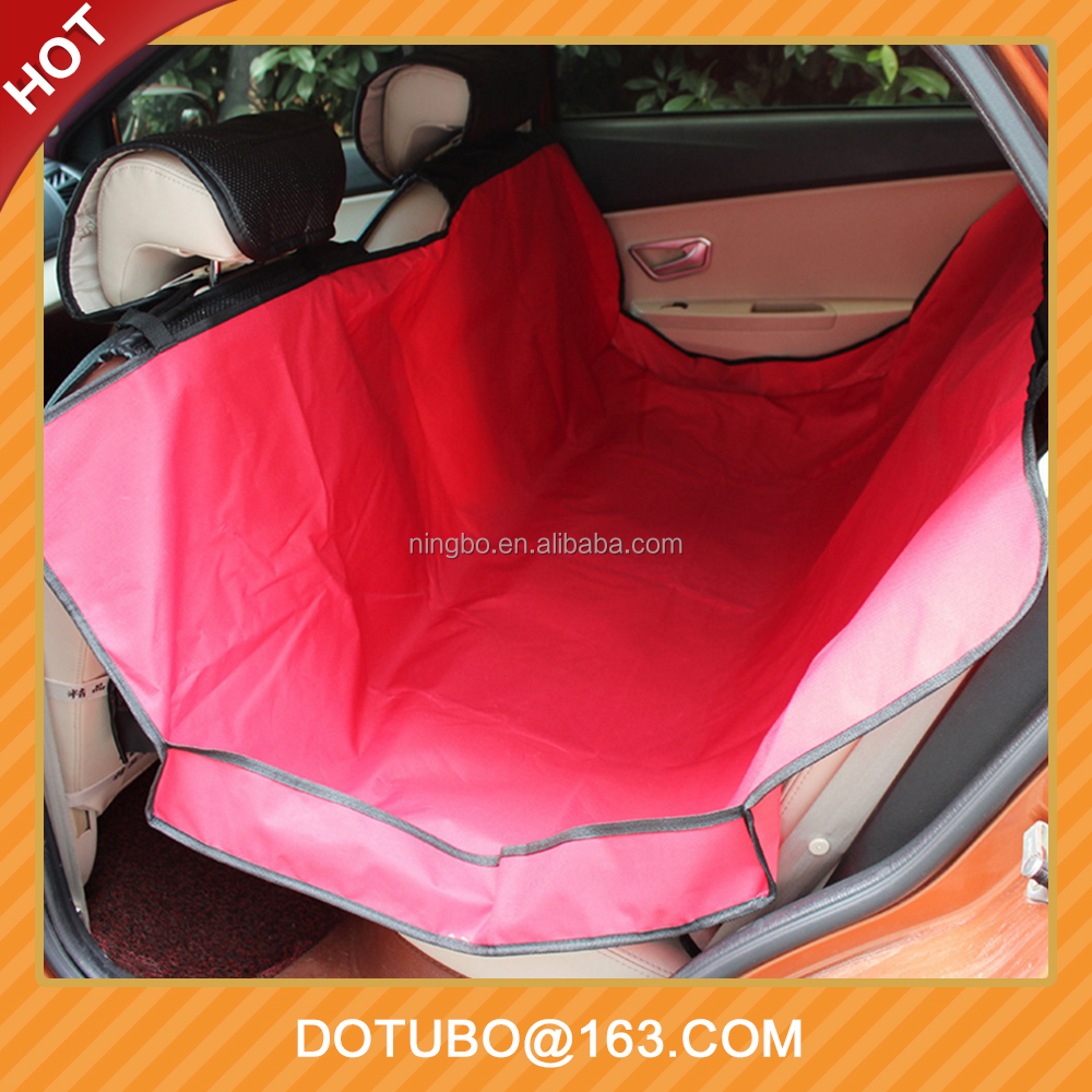 Waterproof Pet Dog Cat Car Seat Cover For Cars Trucks SUV Vehicles Mats Hammock Protector Rear Back Cushions 2 Colors