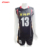 customized sublimation singlets black sleeveless volleyball jersey