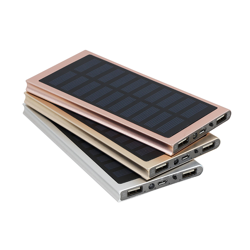 2018 High Efficient Solar Power Bank,10000mAh Solar Charger for mobile phones/tablet PC/other <strong>electronics</strong>