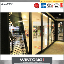 China Supplier New Products Modern Indoor Single Glass Double Track Sliding Doors