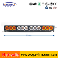 High quality 120W single row 4x4 10w c ree offroad led light bar for trucks