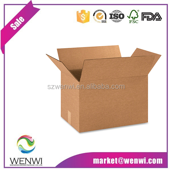 Wholesale <strong>custom</strong> printed 3 ply corrugated shipping boxes