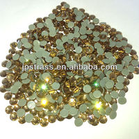 high quality of shiny copy austrian flat back rhinestones 2014 newly style