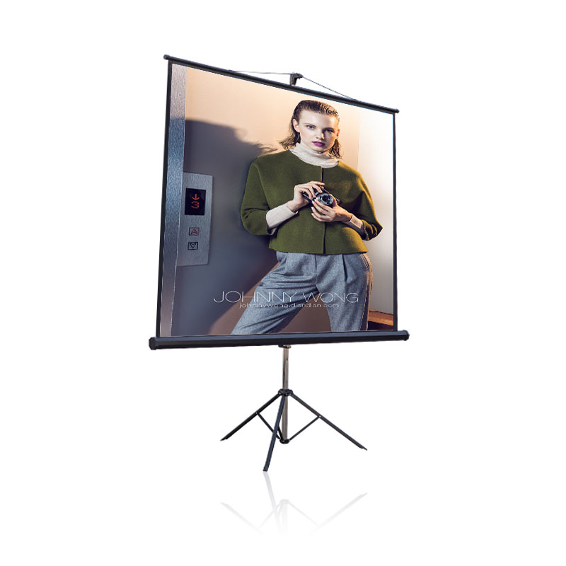 Easy fold projection screen / Quick folding screen