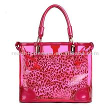 Fashion clear pvc beach totes bag