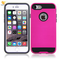 For iPhone 8 case, Shockproof Brushed TPU PC Two in One Cover