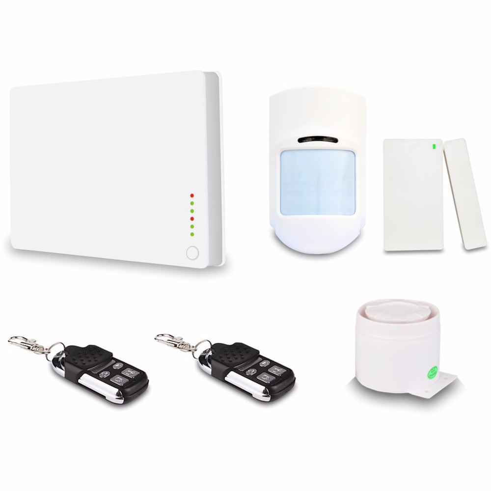 Support iOS&Android APP Control wireless alarm system home GSM R0002 Smart home guard