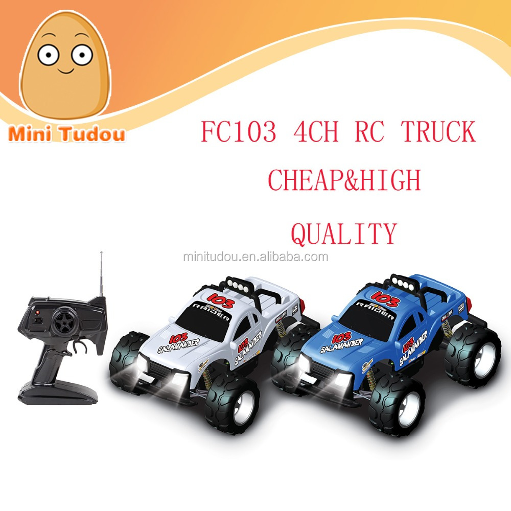FC103 powerful China rc car 4CH 27MHz/49MHz cheap rc truck VS WL Toys A959