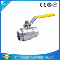 blow out proof stem ball valve cf8m 1000wog