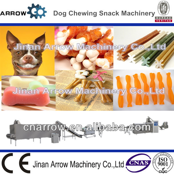 Stick Corn Starch Rawhide Dental Chews Pet Dog Snacks Machine