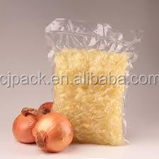 7 layer moisture barrier poly ldpe transparent high quality plastic packaging pouches vacuum bags onions