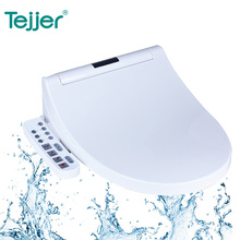 Elongated US standard washlet heated electric bidet toilet seat