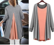 High Quality Chiffon Ladies Blouse/Long Sleeve Blouse Women JDL025