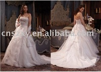 plus size wedding dress ! TW116