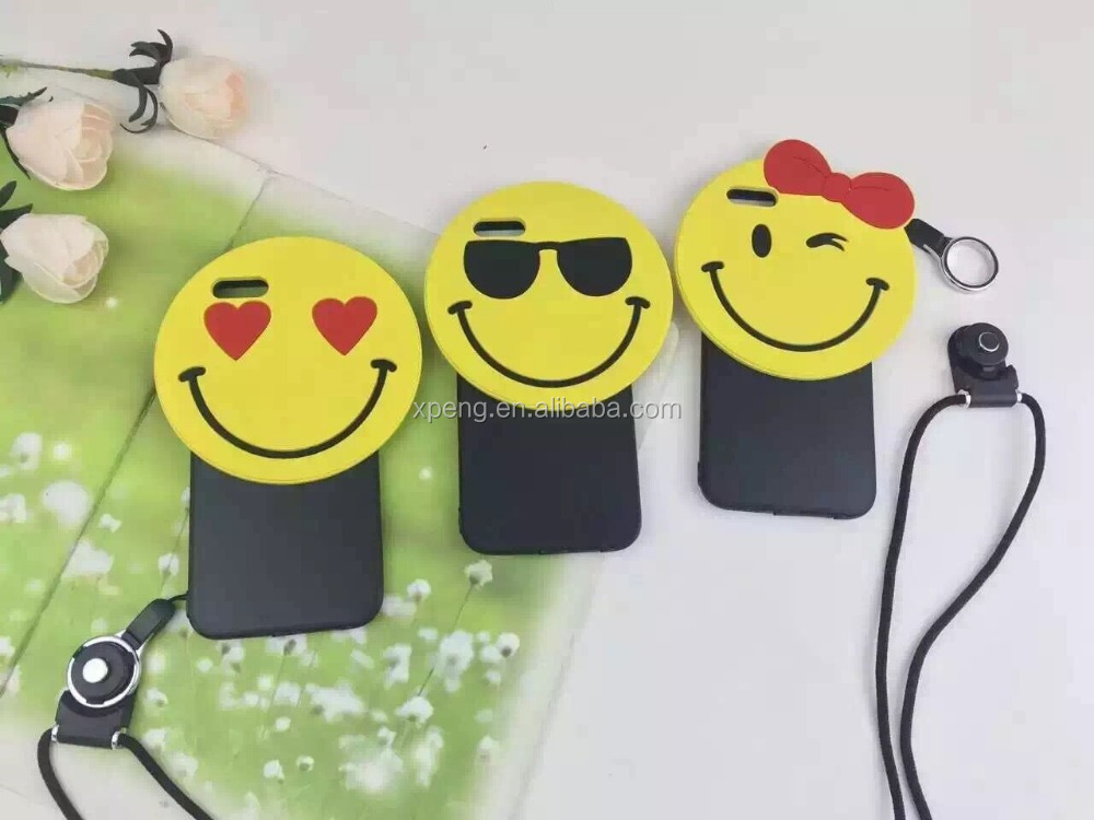 Smiley Face picture 2016 phone case hot silicone case for samsung galaxy J5