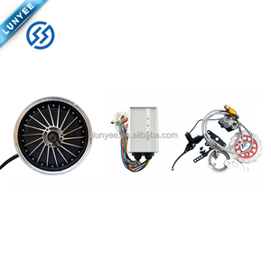 "12"" 40H 60v 72v 84v 96v 120v Electric Hub motor For Motorcycle Design"