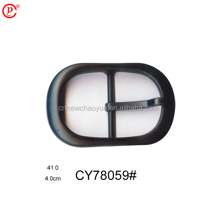 Wholesale zinc alloy center pin buckle for leather belt