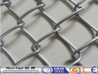 chain link fence 36 inch,used chain link fence post,hot dipped galvanized chain link fence (ISO:9001)