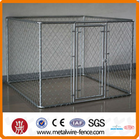 10x10x6ft Outdoor galvanized dog cage