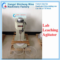 laboratory agitation leaching tank in mineral processing
