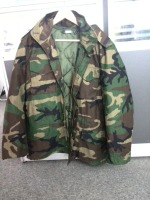 Woodland jacket winter combat military men jacket