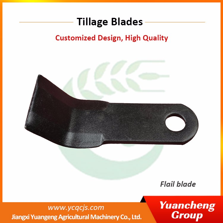 Agriculture Machinery Equipment Rotavator Blades Flail Mower Blades
